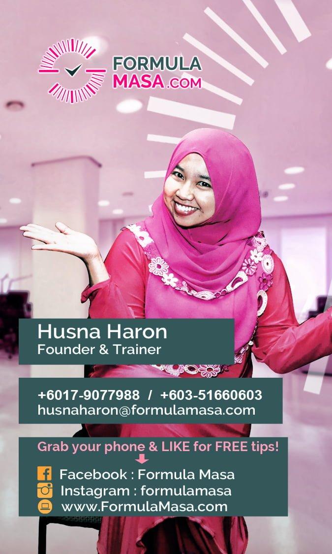 Seminar Husna Haron